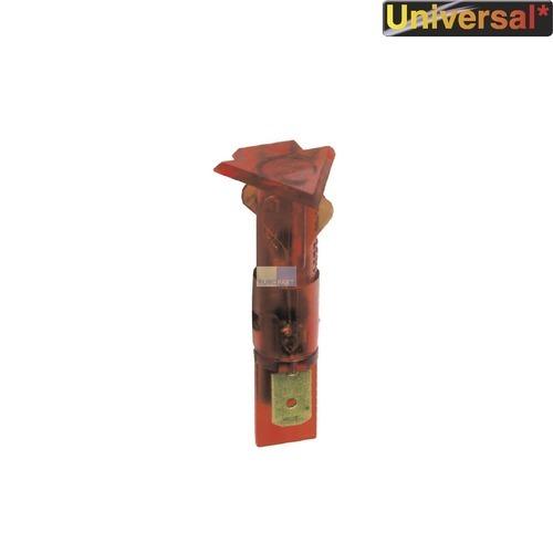 Klick zeigt Details von Kontrolllampe Kontroll Lampe rot, dreieckig