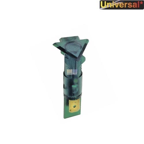Klick zeigt Details von Kontrolllampe Kontroll Lampe grün, dreieckig