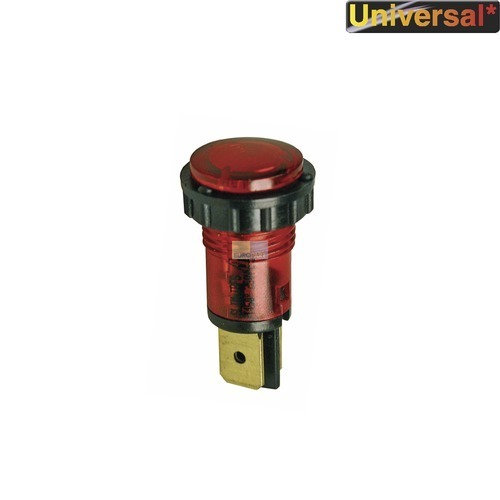 Klick zeigt Details von Kontrolllampe rot, rund
