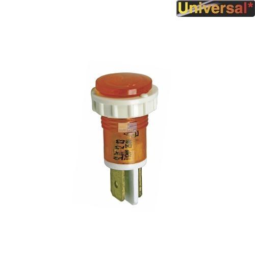 Klick zeigt Details von Kontrolllampe gelb, rund/rund