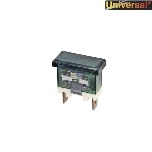 Klick zeigt Details von Kontrolllampe Kontroll Lampe grün, rechteckig