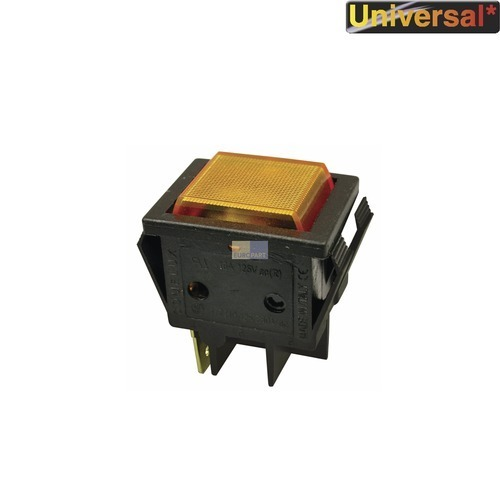 Klick zeigt Details von Lampe,Kontroll- gelb, rechteckig