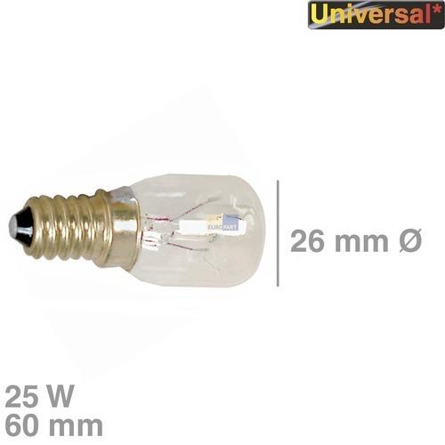 Klick zeigt Details von Birne Kühlschrank Kühlgerät E14 universell