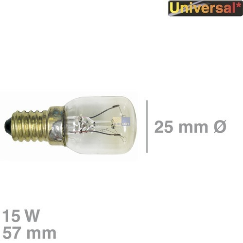 Klick zeigt Details von Lampe E14 15W 240V, Universal!,