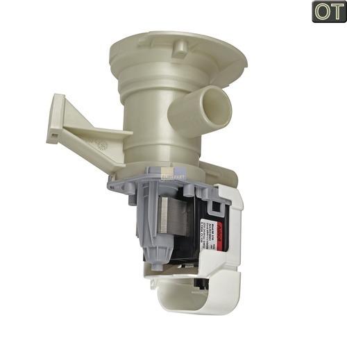 Klick zeigt Details von Ablaufpumpe Flusensiebeinsatz Whirlpool 480111104693 Laugenpumpe Waschmaschine