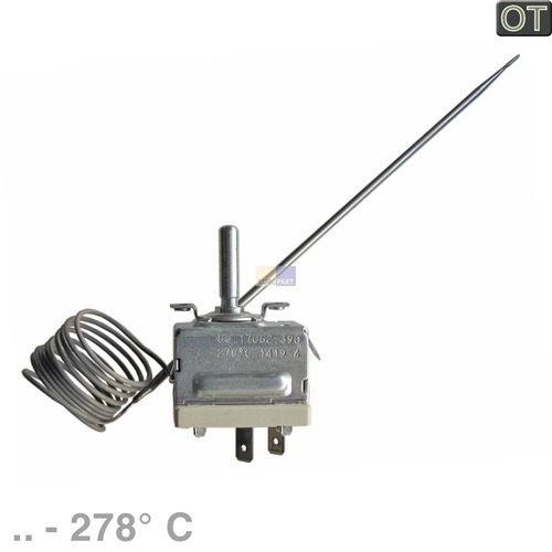 Klick zeigt Details von Thermostat