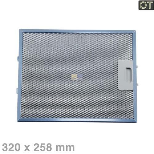 Klick zeigt Details von Fettfilter eckig Metall 320x258mm