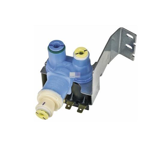 Klick zeigt Details von Wasserventil Whirlpool 481010413237 Original für Kühlschrank Side-by-Side