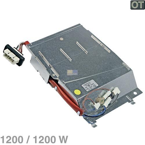 Klick zeigt Details von Heizelement Heizregister 1200/1200W 230V Whirlpool 481010669313 Original