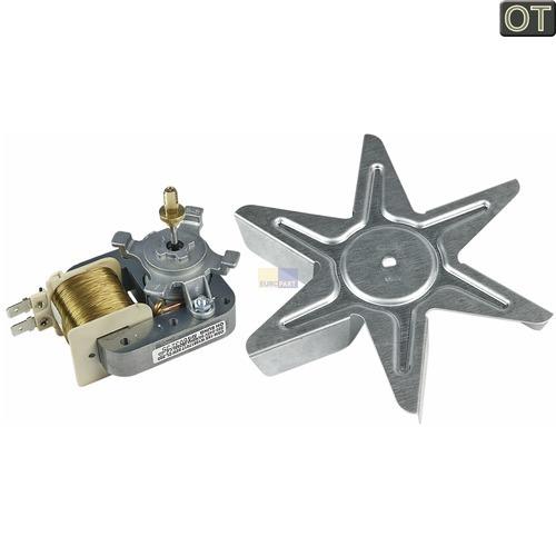 Klick zeigt Details von Heißluftherdventilator kpl. 22W 230V