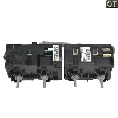 Klick zeigt Details von Kochplattenschalterblock 4er-Einheit Elektronikregler