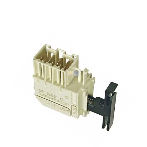 Klick zeigt Details von Tastenschalter 1-fach Whirlpool 481227618495 Ein/Aus Schalter für Spülmaschine