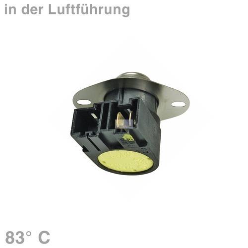 Klick zeigt Details von Temperaturbegrenzer 83° Whirlpool 481228208008 Klixon für Trockner