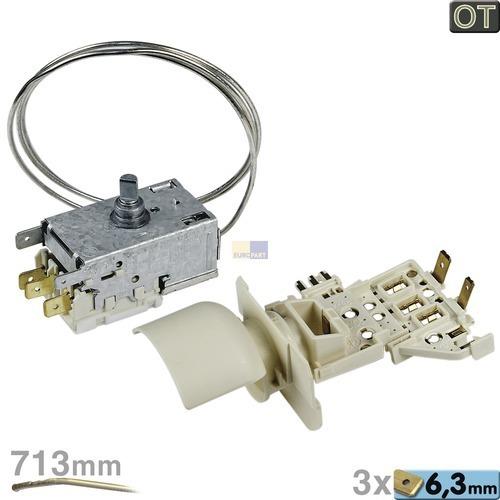 Klick zeigt Details von Thermostat K59-S2785 Ranco  Umbausatz mit Lampenfasung