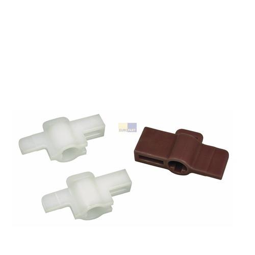 Klick zeigt Details von Adapter für Knebel 3er Set Whirlpool 481231018418 Knebeladapter für Waschmaschine