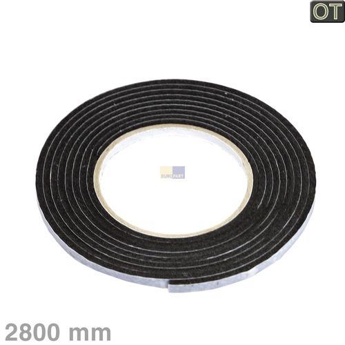 Klick zeigt Details von Dichtung Dichtband 2,8m Whirlpool 481246688967 Kochfelddichtband für Kochfeld