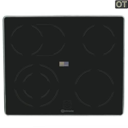 Glaskeramikplatte für Kochfeld  Bauknecht/Whirlpool 481944239154