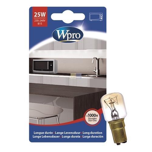 Klick zeigt Details von Lampe B15 25W 230/240V, Wpro LMO137