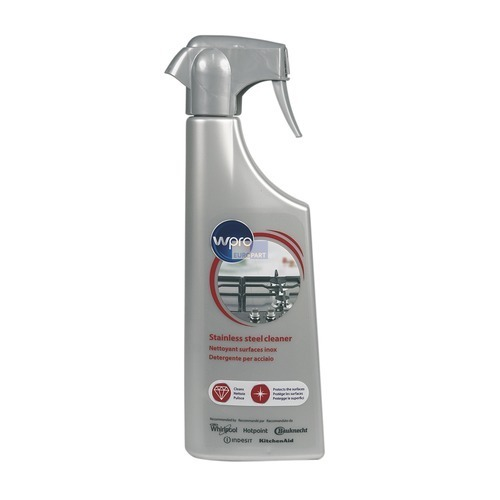 Klick zeigt Details von Edelstahlpflege Polierspray Wpro SSC212 500ml