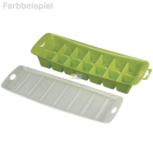 Klick zeigt Details von Eiswürfelschale mit Deckel Eisform Würfel Wpro ICM141