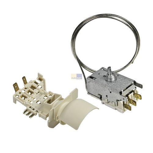 Klick zeigt Details von Thermostat + Lampenfassung Ranco  K59-S1890/500 Whirlpool 484000008569