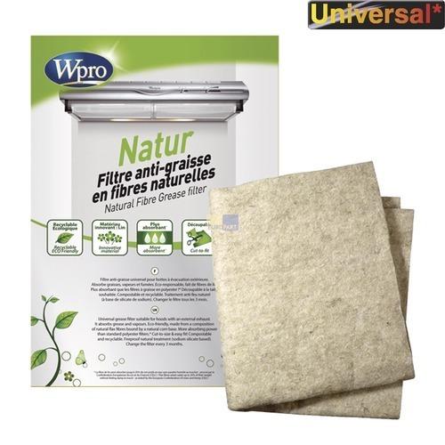 Natur-Fettfiltermatte 1170x470mm Wpro, Universal!