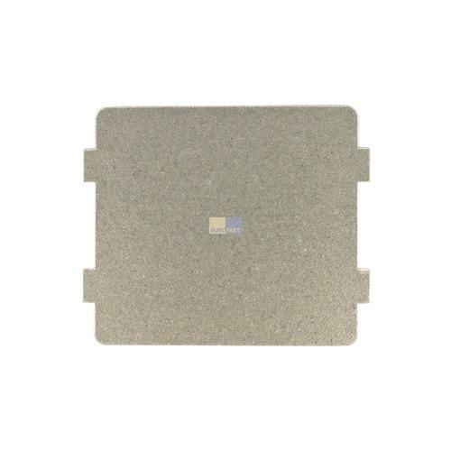 Klick zeigt Details von Hohlleiterabdeckung 118x99mm CANDY 49006032 Original für Mikrowelle