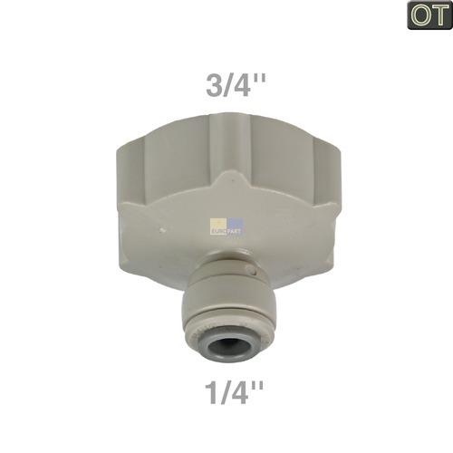 Klick zeigt Details von Kühlschrank Gefrierschrank Wasser Anschluss 4932JA3018A LG Electronics