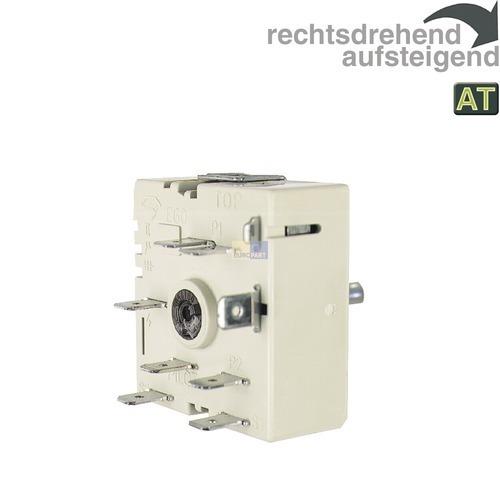 Klick zeigt Details von Kochplattenschalter 13A, 230V  EGO 50.57021.140, wie Gorenje 599596