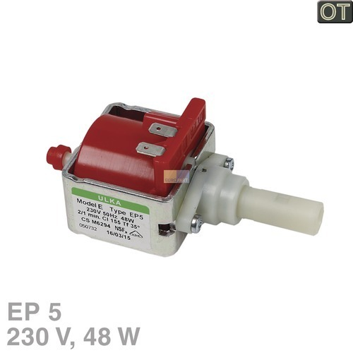 Klick zeigt Details von Elektropumpe Ulka EP5 230Volt, OT!