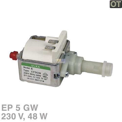 Klick zeigt Details von Pumpe Ulka EP5GW 48W 230V DeLonghi 5113211311 Original für Kaffeemaschine