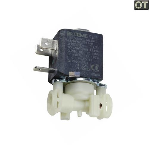 Klick zeigt Details von Kaffeeautomat Ventil Magnetventil zwei Abgänge 5213218321 DeLonghi EAM ESAM