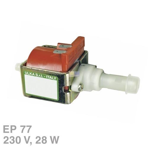 Klick zeigt Details von Pumpe Ulka EP77 28W 230V Universal Alternative u.a. für Kaffeemaschine