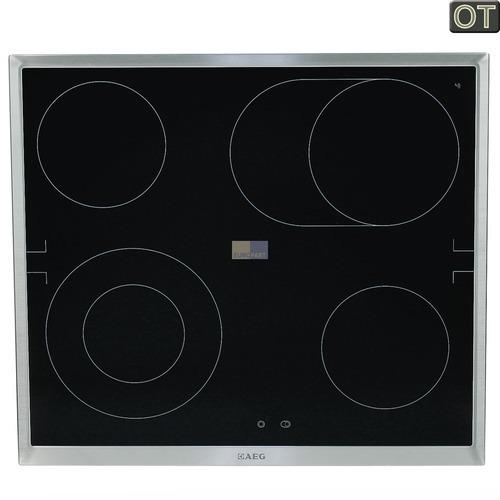 kochfeld glaskeramikplatte rahmen edelstahl aeg ersatzteile zubeh r f r haushaltsger te. Black Bedroom Furniture Sets. Home Design Ideas
