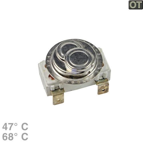 Klick zeigt Details von Temperaturbegrenzer 47/68° 2-fach Electrolux Zanker 605117509 Klixon für Waschmaschine