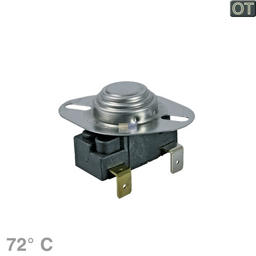 Klick zeigt Details von Temperaturbegrenzer 72° AEG 899647160380 Klixon für Trockner Wäschetrockner