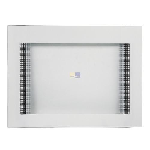 Klick zeigt Details von Außenfenster für Backofentüre, weiß
