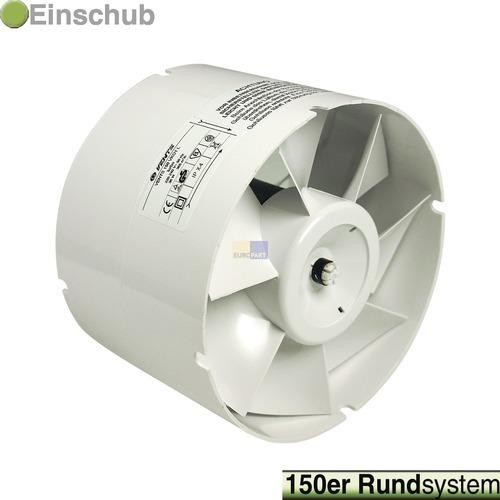 Klick zeigt Details von Rohreinschub-Ventilator 150erR