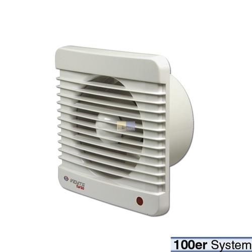 Klick zeigt Details von Wohnraumventilator 100erR weiß