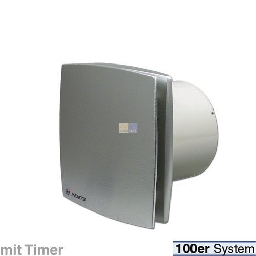 Klick zeigt Details von Wohnraumventilator 100erR Alu