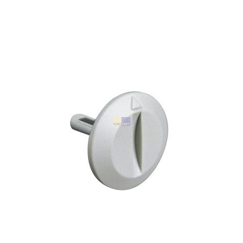 Klick zeigt Details von Knebel für Kühlthermostat  mit Groschenschlitz, LIEBHERR 7422543