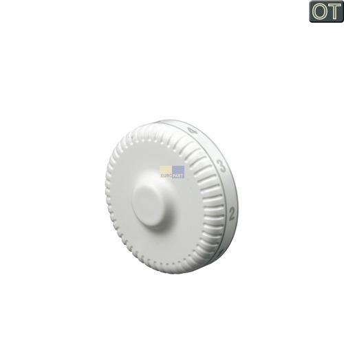 Klick zeigt Details von Knebel für Kühlthermostat, mit Aufdruck  LIEBHERR 7424515