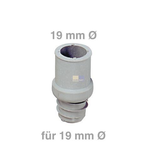 Schlauchendstück für 19 mm Ø