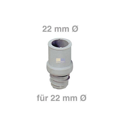 Klick zeigt Details von Ablaufschlauch-Endstück 22mmØ für 22mmØ