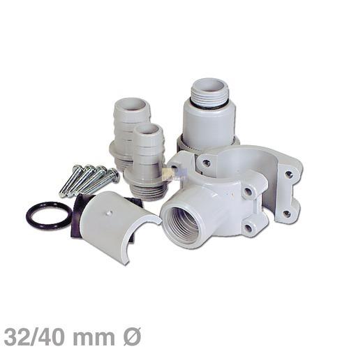 Klick zeigt Details von Anbohrschelle für 32/40mmØ Siphon