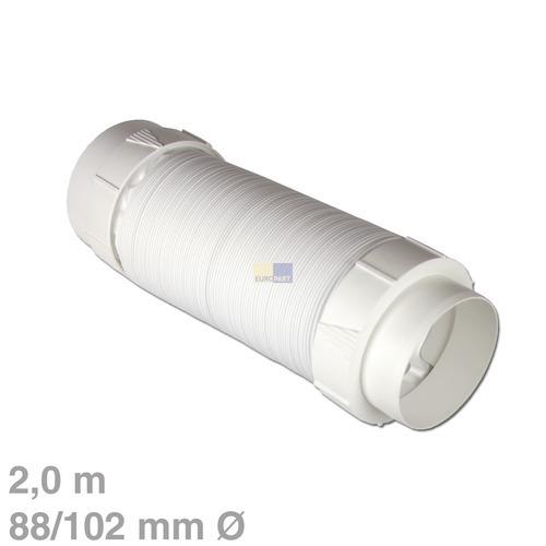 Klick zeigt Details von Abluftschlauchset 2m PVC