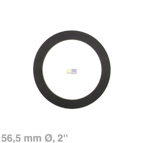 Klick zeigt Details von Dichtung Gummi 46 / 56,5 mm Ø Viega