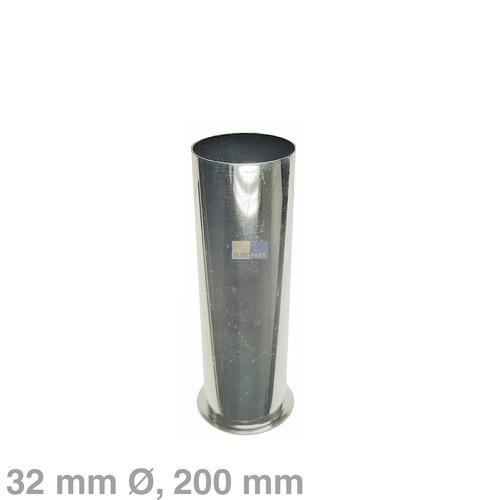 Klick zeigt Details von Bördelrohr 32mmØ, 200mm