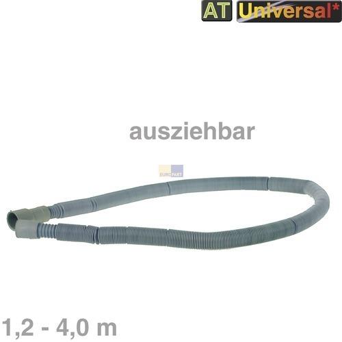 Klick zeigt Details von Ablaufschlauch 1,2-4,0m ausziehbar 22/22/30mmØ Universal! Whirlpool 481981728976 Original