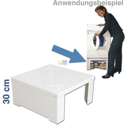 Klick zeigt Details von Unterbausockel Waschmaschine Trockner UBSTS30 Universell EUROPART